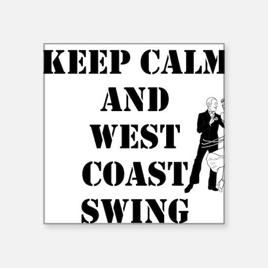 keep calm wcs Sticker