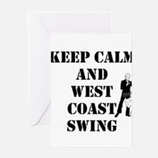 keep calm wcs Greeting Cards