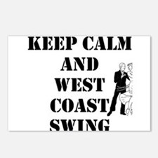 keep calm wcs Postcards (Package of 8)