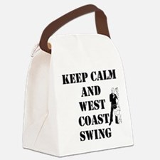 keep calm wcs Canvas Lunch Bag