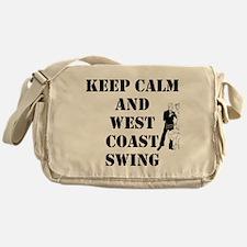 keep calm wcs Messenger Bag