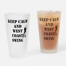 keep calm wcs Drinking Glass