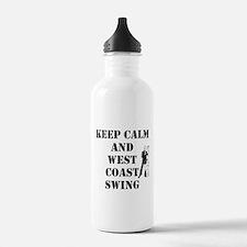 keep calm wcs Water Bottle