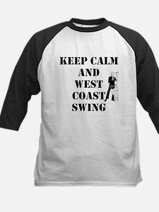 keep calm wcs Baseball Jersey