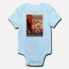 Vintage poster - Cappuccino Body Suit