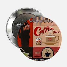 "Vintage poster - Cappuccino 2.25"" Button"