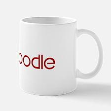 Toy Poodle (dog paw red) Mug