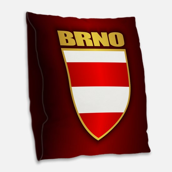 Brno Burlap Throw Pillow