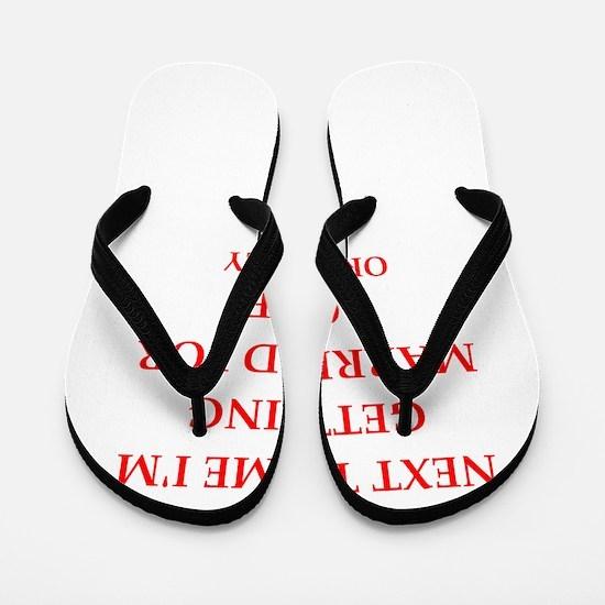 divorced Flip Flops