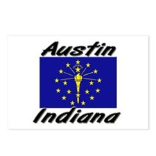 Austin Indiana Postcards (Package of 8)