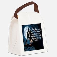 Cute Humor Canvas Lunch Bag