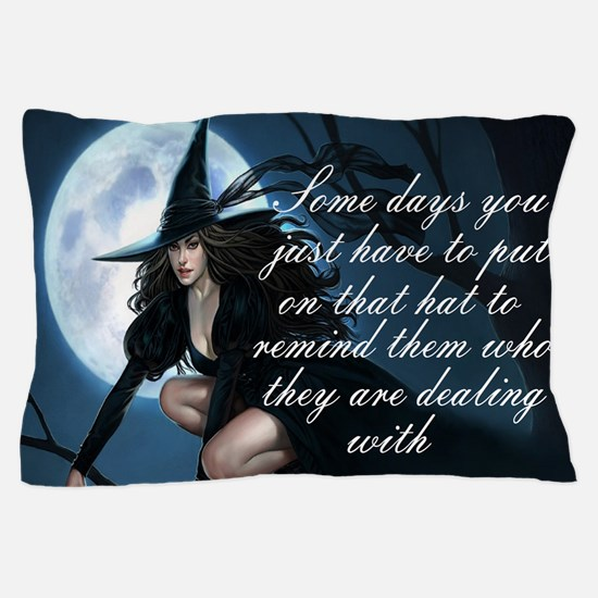 witch humor Pillow Case