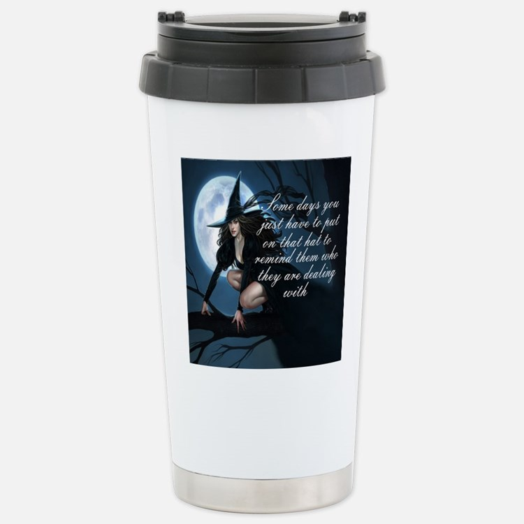 witch humor Stainless Steel Travel Mug