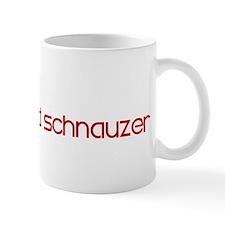 Standard Schnauzer (dog paw r Mug