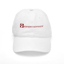 Standard Schnauzer (dog paw r Baseball Cap
