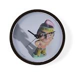 Indian Bobble Head Wall Clock