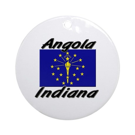 Angola Indiana Ornament (Round)
