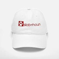 Stabyhoun (dog paw red) Baseball Baseball Cap
