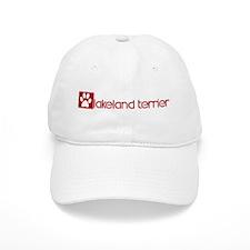 Lakeland Terrier (dog paw red Baseball Cap