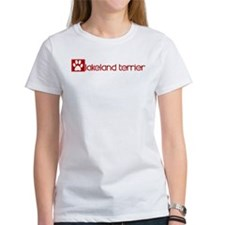 Lakeland Terrier (dog paw red Tee