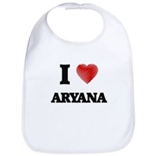 I Love Aryana Bib