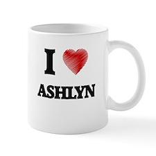 I Love Ashlyn Mugs