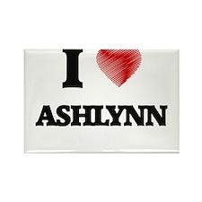 I Love Ashlynn Magnets