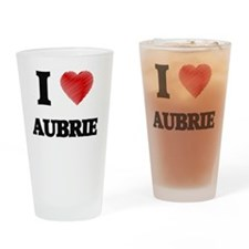 Cute Aubrie Drinking Glass