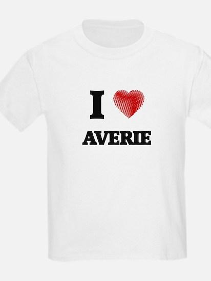 I Love Averie T-Shirt