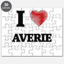 I Love Averie Puzzle