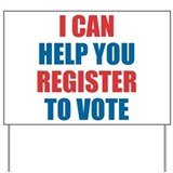Register to vote Yard Signs