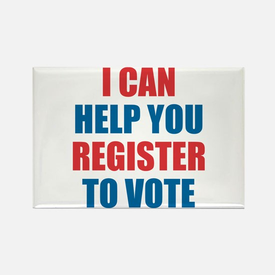 I Can Help You Register To Vote Magnets