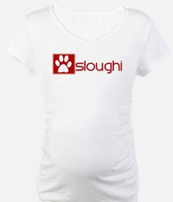 Sloughi (dog paw red) Shirt