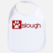 Sloughi (dog paw red) Bib