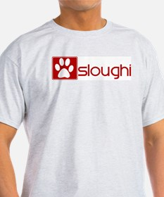 Sloughi (dog paw red) T-Shirt