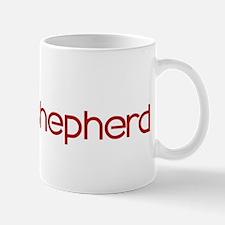 King Shepherd (dog paw red) Mug