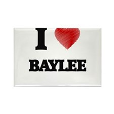 I Love Baylee Magnets