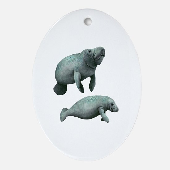 Cute Best buddies Oval Ornament