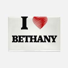 I Love Bethany Magnets