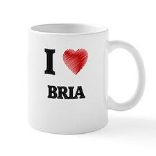 I Love Bria Mugs