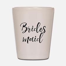 Bridesmaid Shot Glass