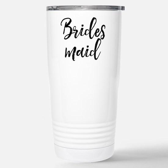 Bridesmaid Stainless Steel Travel Mug