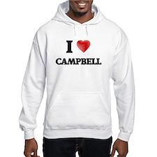 I Love Campbell Hoodie Sweatshirt