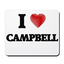 I Love Campbell Mousepad