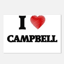 I Love Campbell Postcards (Package of 8)