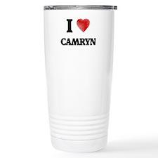 I Love Camryn Travel Mug