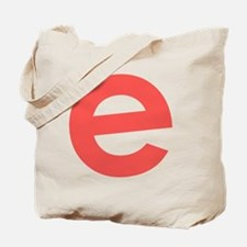 Cute Red letter Tote Bag