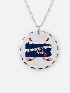 Pennsylvania Hockey Necklace