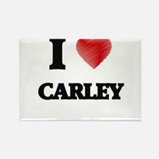 I Love Carley Magnets