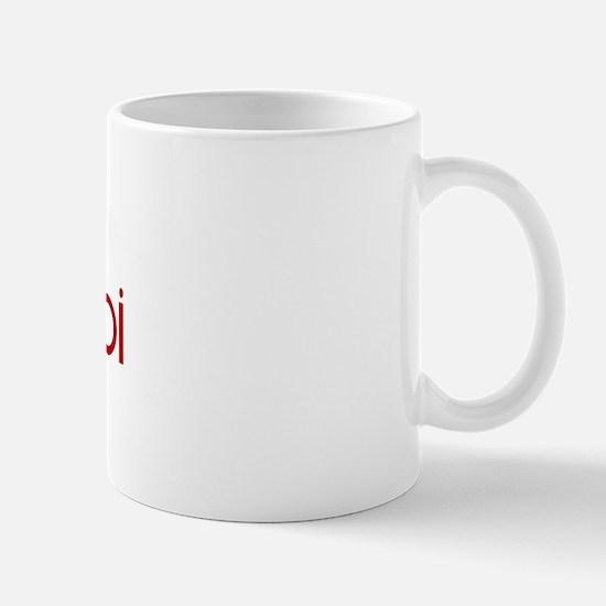 Borzoi (dog paw red) Mug